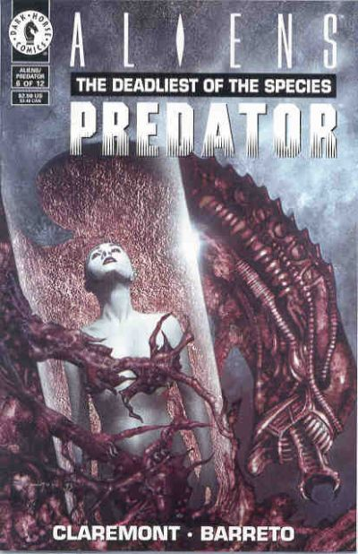 Cover for Aliens / Predator: The Deadliest of the Species (Dark Horse, 1993 series) #6