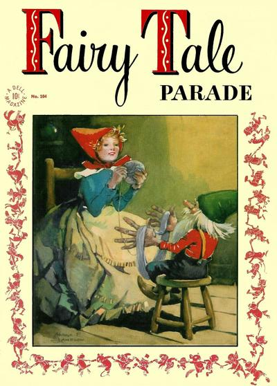 Cover for Four Color (Dell, 1942 series) #104 - Fairy Tale Parade