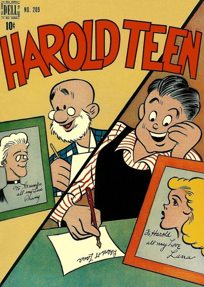 Cover for Four Color (Dell, 1942 series) #209