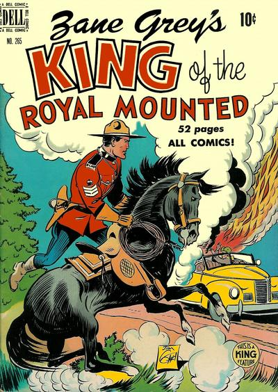 Cover for Four Color (Dell, 1942 series) #265 - King of the Royal Mounted
