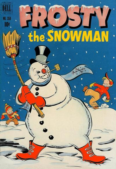Cover for Four Color (Dell, 1942 series) #359 - Frosty the Snowman