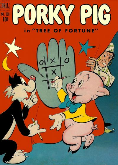 Cover for Four Color (Dell, 1942 series) #360