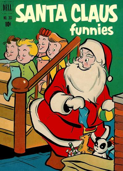 Cover for Four Color (Dell, 1942 series) #361 - Santa Clause Funnies