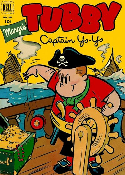 Cover for Four Color (Dell, 1942 series) #381 - Marge's Tubby, Captain Yo-Yo