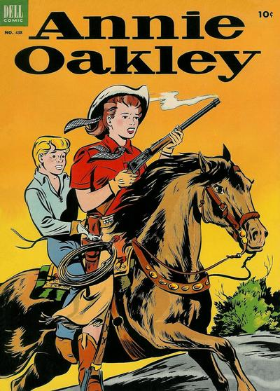 Cover for Four Color (Dell, 1942 series) #438 - Annie Oakley