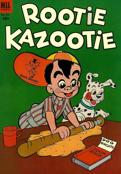 Cover for Four Color (Dell, 1942 series) #459 - Rootie Kazootie