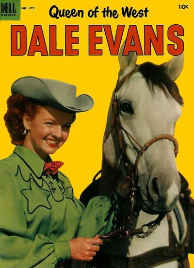 Cover for Four Color (Dell, 1942 series) #479 - Queen of the West Dale Evans