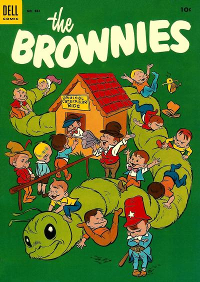 Cover for Four Color (Dell, 1942 series) #482 - The Brownies