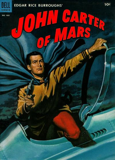 Cover for Four Color (Dell, 1942 series) #488 - Edgar Rice Burroughs' John Carter of Mars