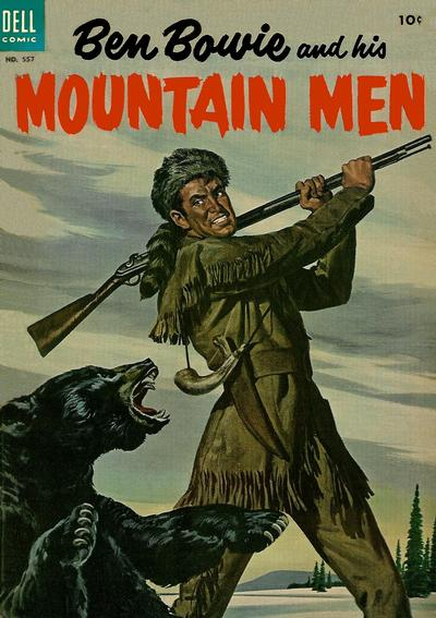 Cover for Four Color (Dell, 1942 series) #557 - Ben Bowie and his Mountain Men