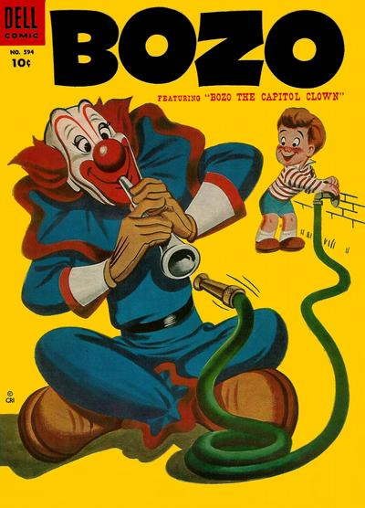 Cover for Four Color (Dell, 1942 series) #594 - Bozo, featuring Bozo the Capitol Clown