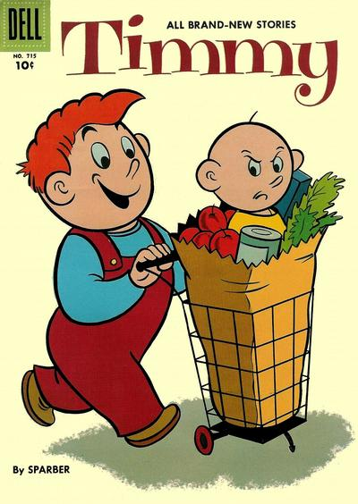 Cover for Four Color (Dell, 1942 series) #715 - Timmy