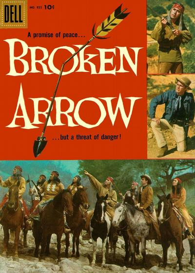 Cover for Four Color (Dell, 1942 series) #855 - Broken Arrow