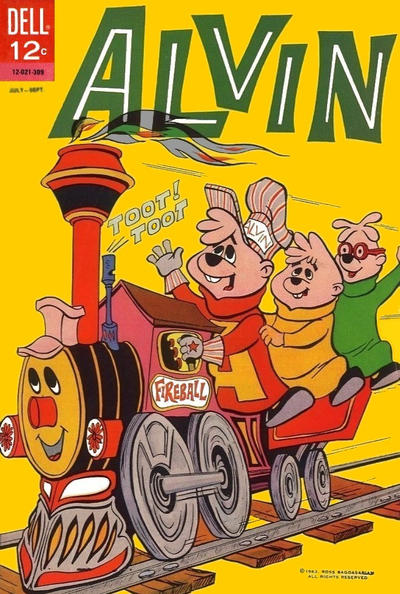 Cover for Alvin (Dell, 1962 series) #4
