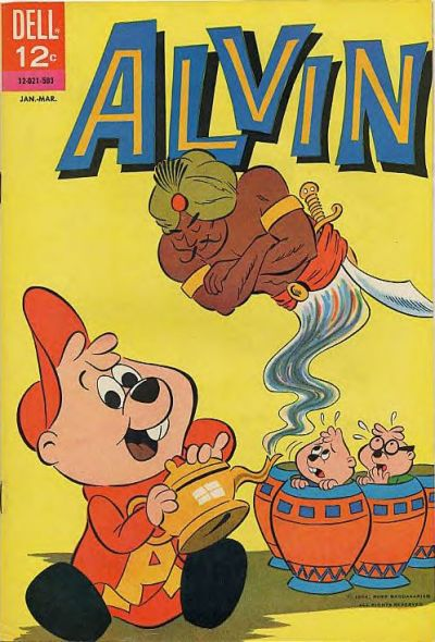 Cover for Alvin (Dell, 1962 series) #10