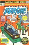 Cover for Arrgh! (Marvel, 1974 series) #5