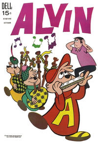Cover Thumbnail for Alvin (Dell, 1962 series) #20