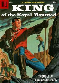 Cover Thumbnail for Four Color (Dell, 1942 series) #935 - King of the Royal Mounted