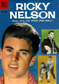 Cover Thumbnail for Four Color (Dell, 1942 series) #956 - Ricky Nelson