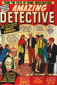 Cover Thumbnail for Amazing Detective Cases (Marvel, 1950 series) #3