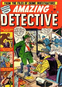 Cover Thumbnail for Amazing Detective Cases (Marvel, 1950 series) #9