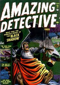 Cover Thumbnail for Amazing Detective Cases (Marvel, 1950 series) #11