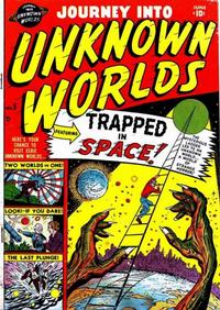 Cover Thumbnail for Journey into Unknown Worlds (Marvel, 1951 series) #5