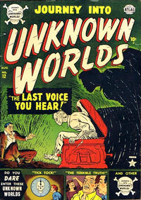 Cover Thumbnail for Journey Into Unknown Worlds (Marvel, 1951 series) #12