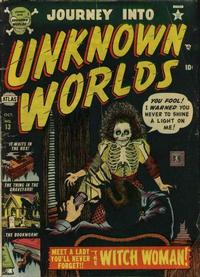 Cover Thumbnail for Journey Into Unknown Worlds (Marvel, 1951 series) #13