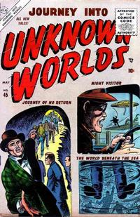 Cover Thumbnail for Journey Into Unknown Worlds (Marvel, 1951 series) #45