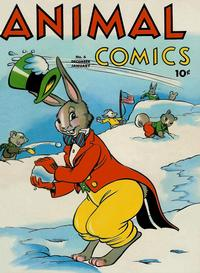 Cover Thumbnail for Animal Comics (Dell, 1942 series) #6