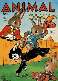 Cover Thumbnail for Animal Comics (Dell, 1942 series) #7