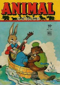 Cover Thumbnail for Animal Comics (Dell, 1942 series) #12