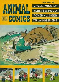 Cover Thumbnail for Animal Comics (Dell, 1942 series) #28