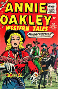 Cover Thumbnail for Annie Oakley (Marvel, 1955 series) #8