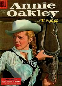 Cover for Annie Oakley and Tagg (1955 series) #5