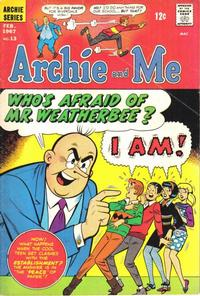 Cover Thumbnail for Archie and Me (Archie, 1964 series) #13