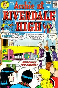 Cover Thumbnail for Archie at Riverdale High (Archie, 1972 series) #8