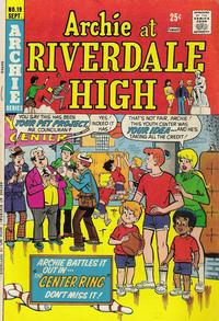 Cover Thumbnail for Archie at Riverdale High (Archie, 1972 series) #19