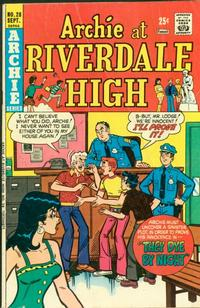 Cover Thumbnail for Archie at Riverdale High (Archie, 1972 series) #28
