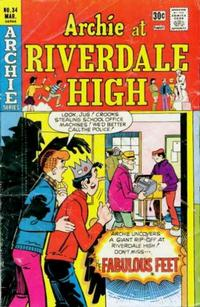 Cover Thumbnail for Archie at Riverdale High (Archie, 1972 series) #34