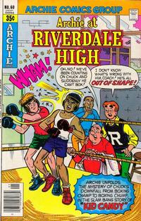 Cover Thumbnail for Archie at Riverdale High (Archie, 1972 series) #60