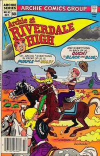 Cover for Archie at Riverdale High (1972 series) #93