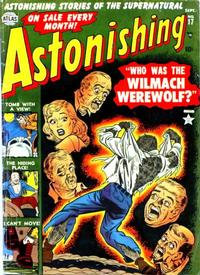 Cover Thumbnail for Astonishing (Marvel, 1951 series) #17