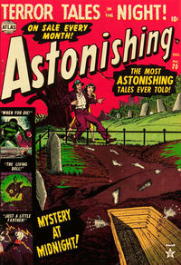 Cover Thumbnail for Astonishing (Marvel, 1951 series) #20