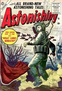 Cover Thumbnail for Astonishing (Marvel, 1951 series) #46