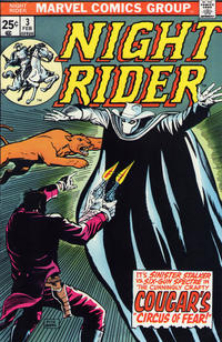 Cover Thumbnail for Night Rider (Marvel, 1974 series) #3
