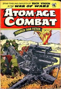 Cover Thumbnail for Atom-Age Combat (St. John, 1952 series) #4