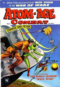 Cover Thumbnail for Atom-Age Combat (St. John, 1952 series) #5