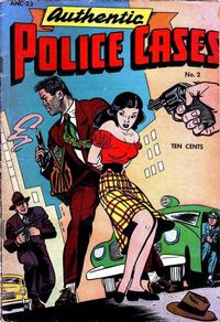 Cover Thumbnail for Authentic Police Cases (St. John, 1948 series) #2
